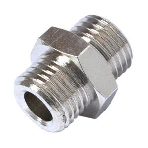 9 a nipple maschio maschio cilindrico acciaio zincato for Prezzi di raccordo in acciaio